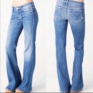 MOTHER The Wilder jeans in Medium Kitty 27